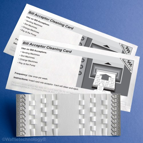 Cleaning Card - Bill/Note Acceptor Box 14